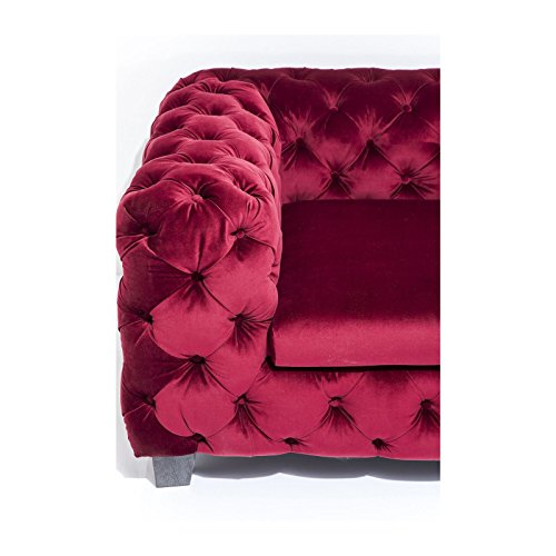 3-Sitzer Chesterfield Sofa My Desire Polsterfarbe: Rot 2