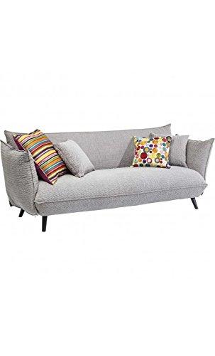 Kare Design Sofa Molly 3-Sitzer B205xT90xH80 grau 4
