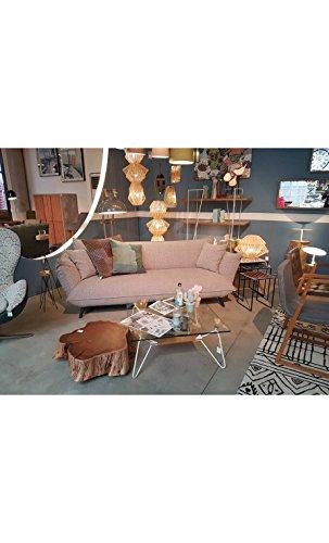 Kare Design Sofa Molly 3-Sitzer B205xT90xH80 grau 2