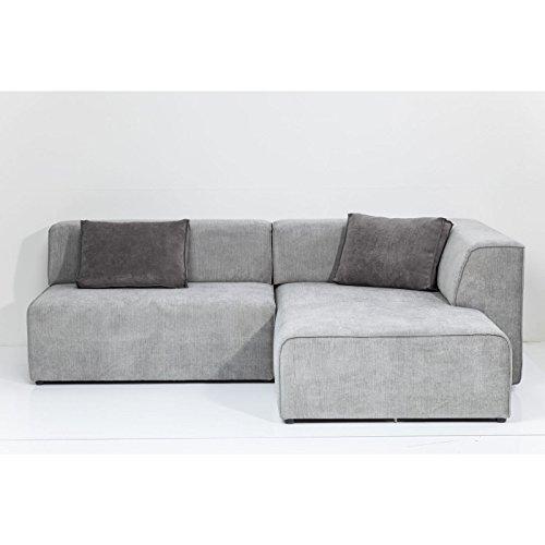Kare design ecksofa sofa couch ottomane infinity grau for Kare ecksofa