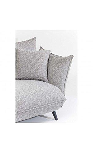 Kare Design Sofa Molly 3-Sitzer B205xT90xH80 grau 5