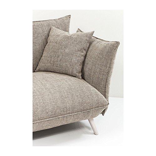 Kare Design–Sofa 3Sitzer Stoff beige Molly Cliff 2