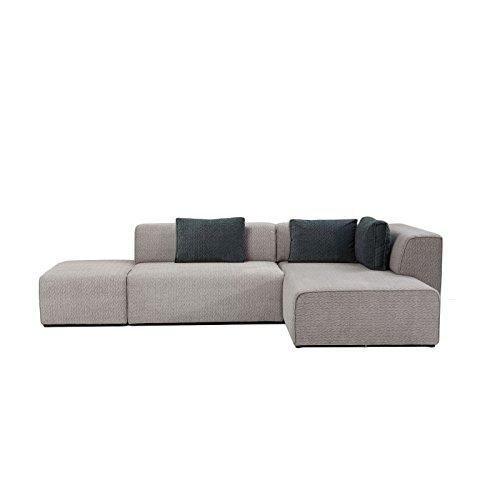 Kare Design–Ecksofa rechts grau Modular Soft Infinity