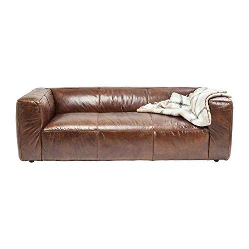 Sofa Leder Cubetto 220cm Kare Design