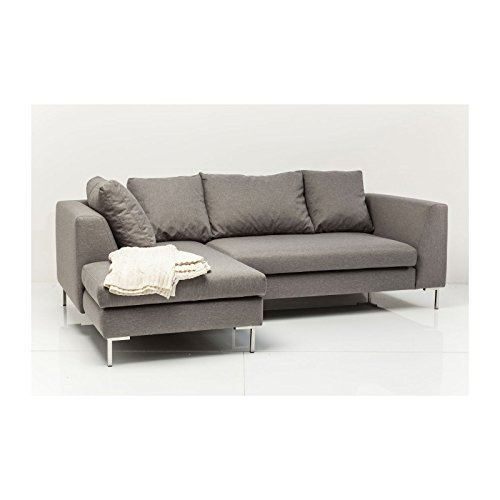 sofa d winkel bruno panini klein grau links kare design m bel24. Black Bedroom Furniture Sets. Home Design Ideas