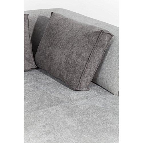 KARE Design Ecksofa Sofa Couch Ottomane Infinity grau 2