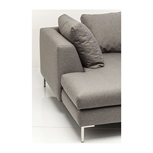 sofa d winkel bruno panini klein grau links kare design 3. Black Bedroom Furniture Sets. Home Design Ideas