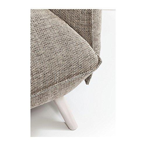 Kare Design–Sofa 3Sitzer Stoff beige Molly Cliff 4