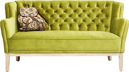Kare Coffee Shop 2-Sitzer Sofa, Andere, Grün, 82 x 150 x 76.5 cm