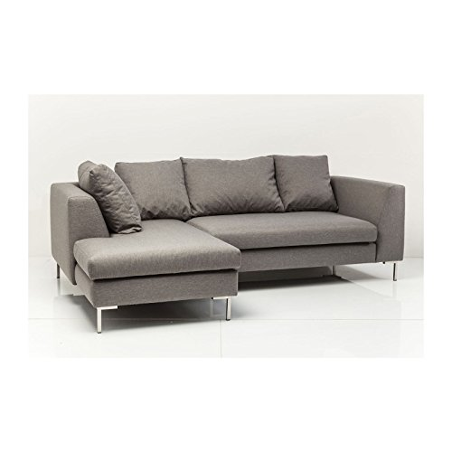 sofa d winkel bruno panini klein grau links kare design 1 m bel24 shop xxxl. Black Bedroom Furniture Sets. Home Design Ideas