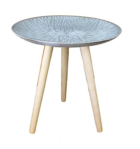 design retro beistelltische 40 cm holz wei kaffeetisch. Black Bedroom Furniture Sets. Home Design Ideas