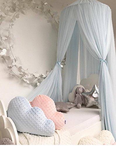 Betthimmel Baldachin Babybett, Restbuy Baldachin Kinderzimmer Betthimmel Moskitonetz Kinderbett Romantische Kuschel und Leseecke mit Himmelbett für ein Schlafzimmer