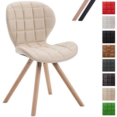 clp design retro stuhl alyssa bein form rund kunstleder sitz gepolstert lounge sessel. Black Bedroom Furniture Sets. Home Design Ideas