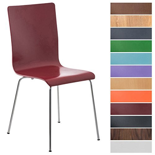 clp wartezimmerstuhl pepe besucherstuhl mit holzsitz ergonomisch geformt robust pflegeleicht. Black Bedroom Furniture Sets. Home Design Ideas