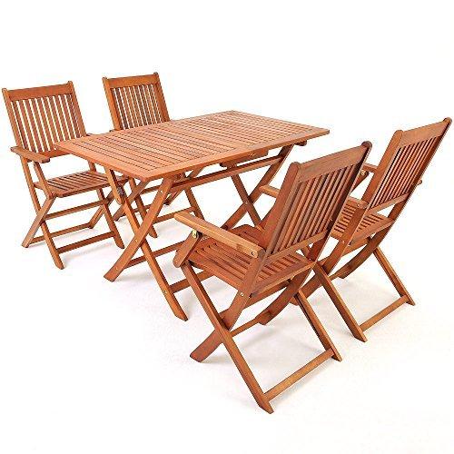 deuba sitzgruppe sitzgarnitur gartengarnitur essgruppe eukalyptusholz akazienholz modellauswahl. Black Bedroom Furniture Sets. Home Design Ideas