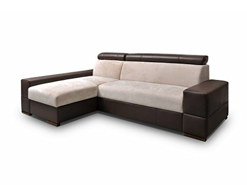 elegante eckcouch cortina ecksofa mit bettkasten und schlaffunktion modernes polsterecke mit. Black Bedroom Furniture Sets. Home Design Ideas