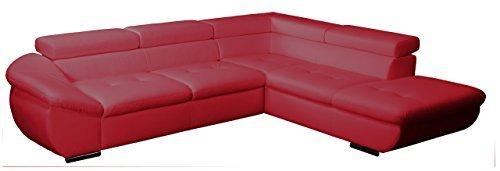 polsterecke astra 3er bett mit kopfteilverstellung ottomane mit bettkasten und. Black Bedroom Furniture Sets. Home Design Ideas
