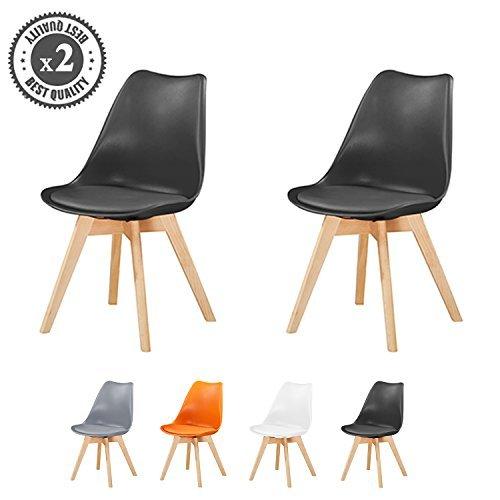 set von 2 stylischer deluxe esszimmer st hle mit. Black Bedroom Furniture Sets. Home Design Ideas