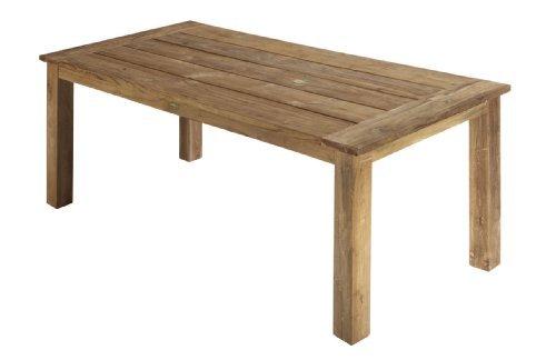 Teaktisch Esstisch retro recycelt Holztisch Teak Tisch 160 x 90 x 75 cm