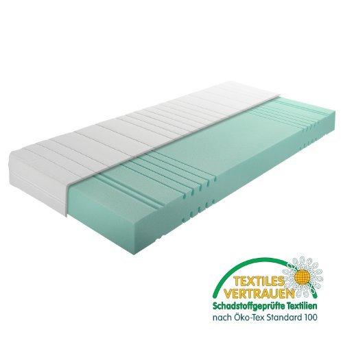 25cm - H3 Ortho 7 Zonen Kaltschaum Matratze mit Qualitätsbezug - Alle Größen