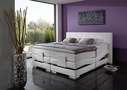 Breckle Boxspringbett 160 x 200 cm Oxford Box Elektro Inspiration Hollanda TFK Topper Gel Comfort