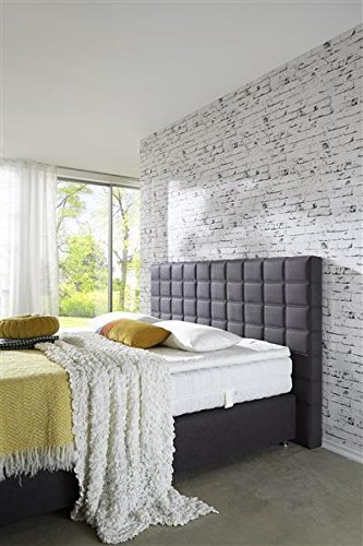Breckle Boxspringbett 200 x 200 cm Big Ben Box Elektro Inspiration Hollanda TFK Topper Gel Comfort