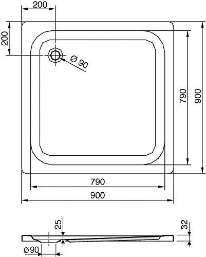 Stahl-Badewanne Saniform Plus | Kaldewei