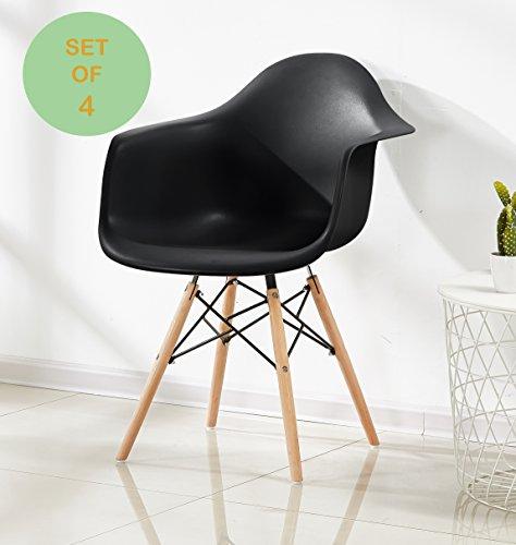 p n homewares set von 4 romano da moda badewanne arm stuhl kunststoff retro esszimmer. Black Bedroom Furniture Sets. Home Design Ideas