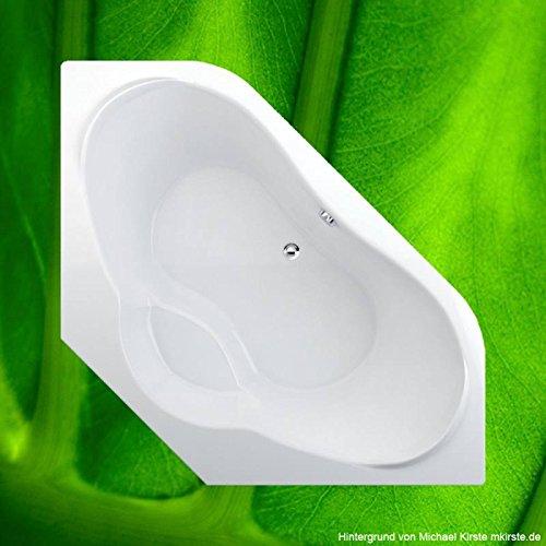 Badewanne 140x140 NAXOS (ohne Ecke) - Acryl Eckbadewanne