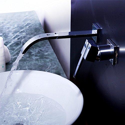 bijjaladeva wasserhahn bad wasserfall mischbatterie waschbecken waschtisch armatur. Black Bedroom Furniture Sets. Home Design Ideas