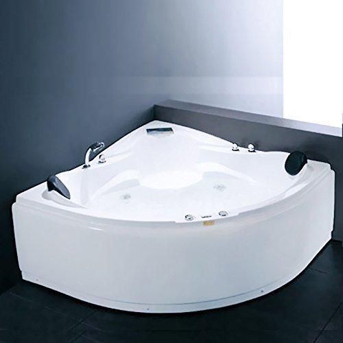 "OimexGmbH Whirlpool ""Boras"" 2 Pers. Eckwhirlpool 150 x 150 cm"
