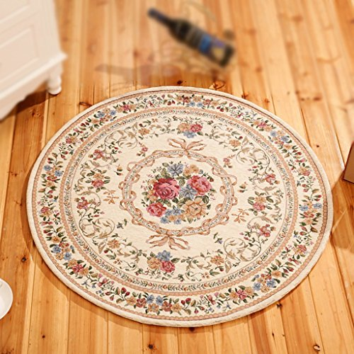 jhdt rundeteppich vorleger runder teppich chinesisches wohnzimmer runder teppich jacquard. Black Bedroom Furniture Sets. Home Design Ideas