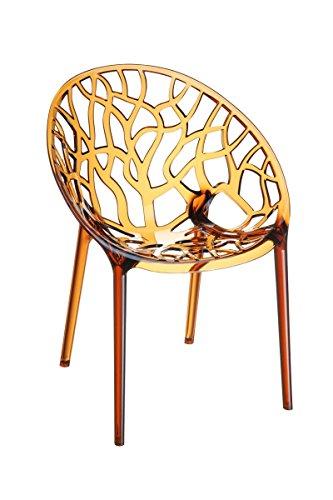 Mendler Garten-Garnitur CP062, Outdoor-Sitzgruppe Bistro-Garnitur, Kunststoff ~ Bernstein