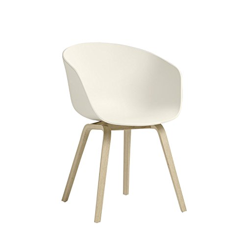 About A Chair AAC22 / AAC 22 Stuhl Hay-Weiß 10 (Creme)