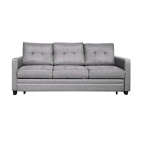 Furniture 247 3-Sitzer Schlafsofa - Grau