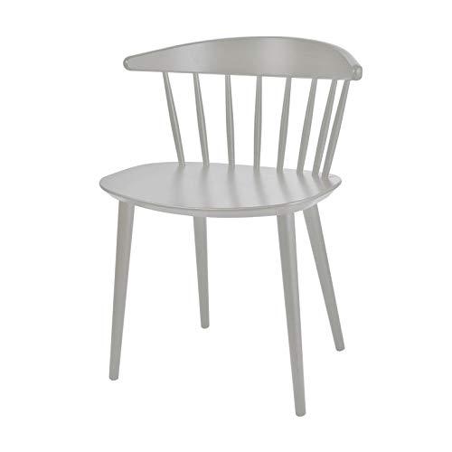 HAY J104 Stuhl, staubgrau lackiert