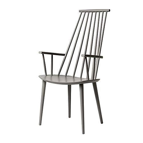 HAY J110 Armlehnstuhl, beige grau lackiert