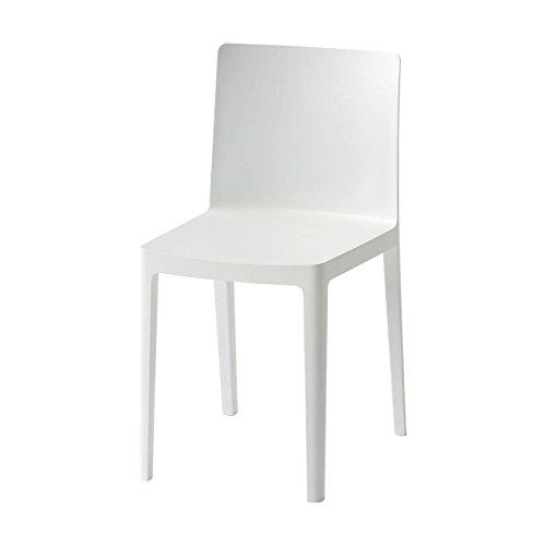 HAY Élémentaire Stuhl, cremeweiß Matt BxHxT 42x79,5x49,5cm