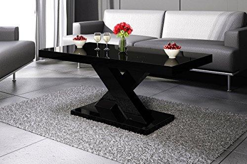 Design Couchtisch H-888 Schwarz Hochglanz Highgloss Tisch Wohnzimmertisch