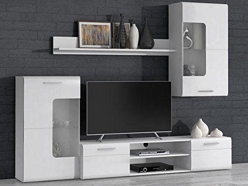 "Wohnwand Anbauwand Mediawand TV-Wand Schrankwand Wohnzimmerwand ""Susy I"""