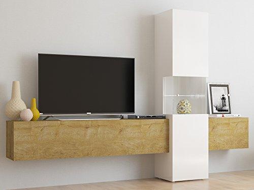 """Wohnwand Wohnzimmerschrank Fernsehschrank Mediawand TV Schrank """"Incontro III"""""""