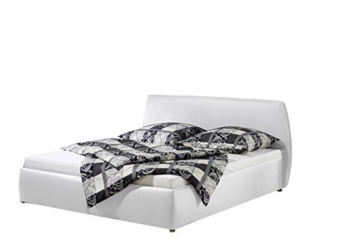 Maintal Betten 234964-4691 Polsterbett Minu 140 x 200 cm, Kunstleder